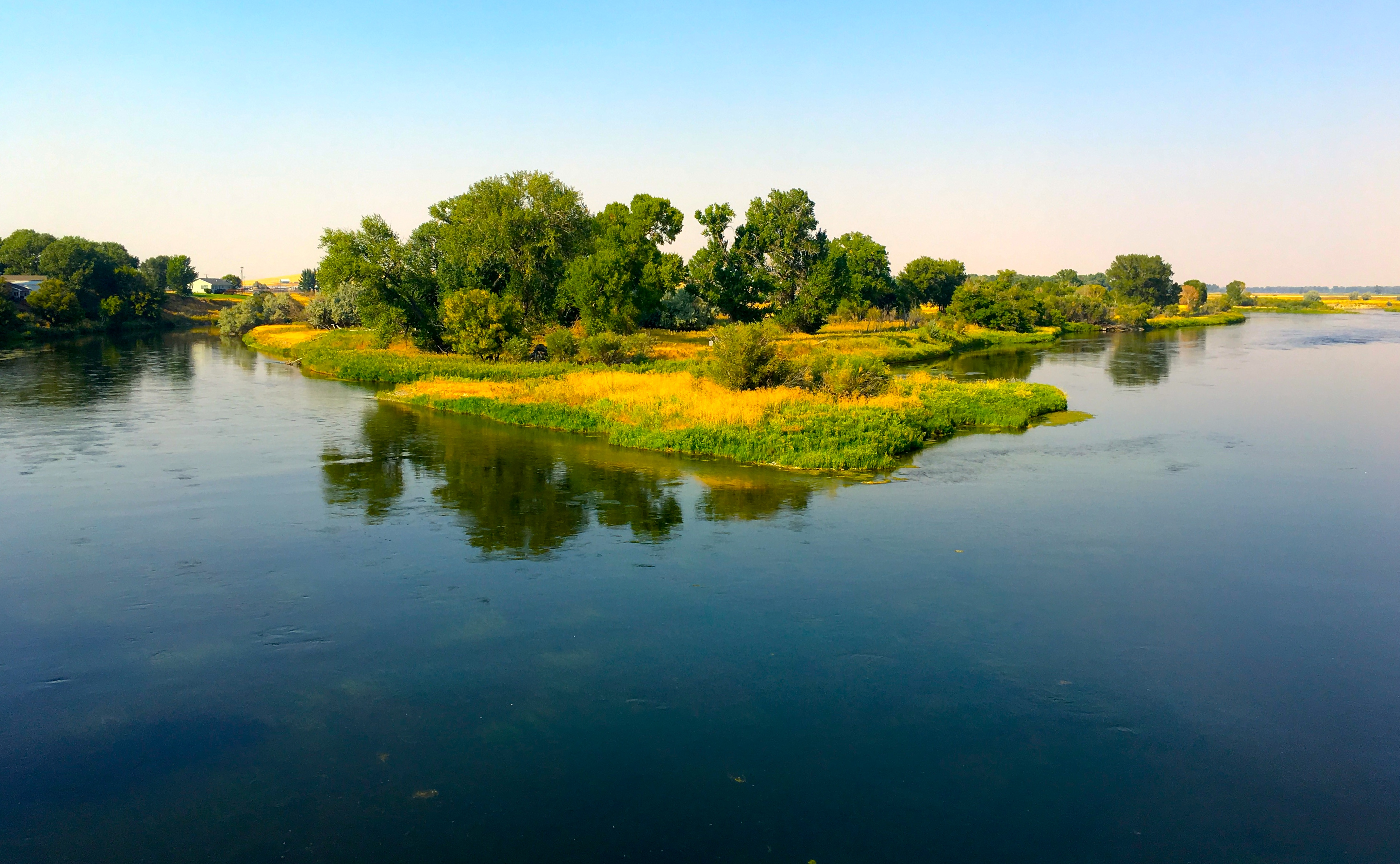 October, September, Missouri River Montana