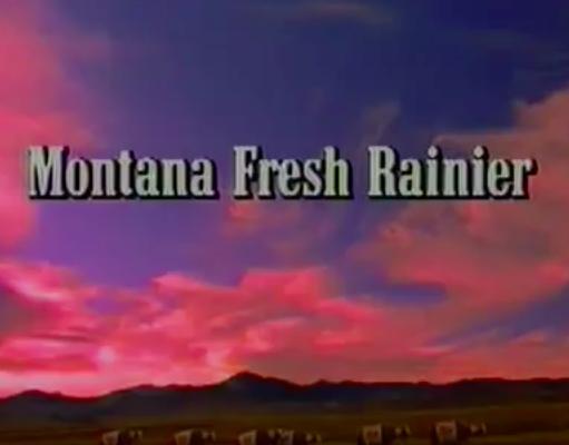 Rainier Beer Montana Edition