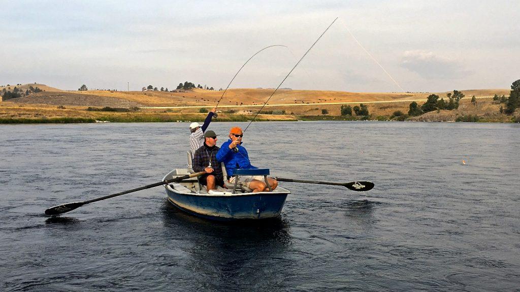 Missouri River Monday Fly Fishing Report