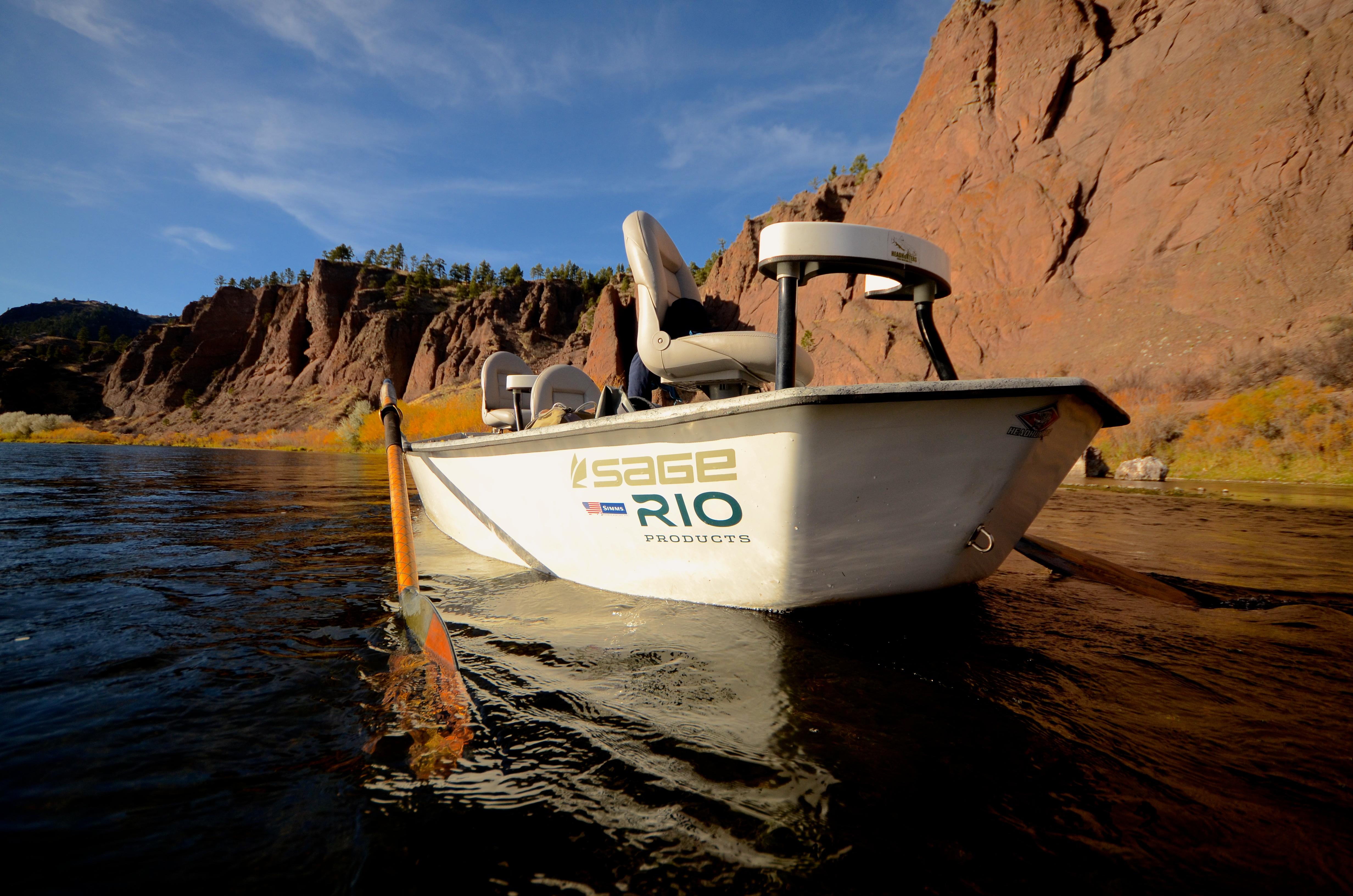 Late November Missouri River Fishing Report