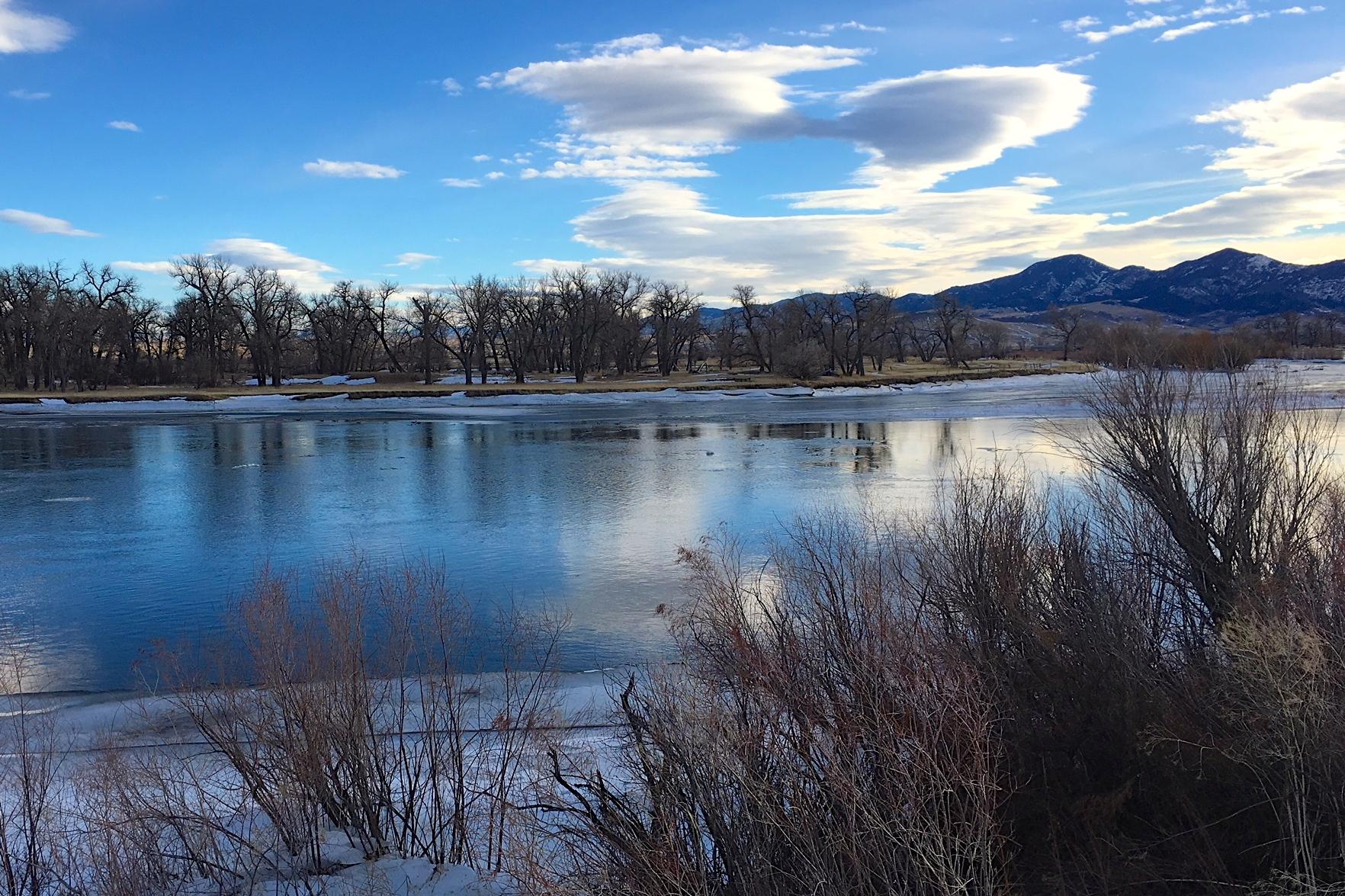 Tuesday January 9th Missouri River Fishing Report
