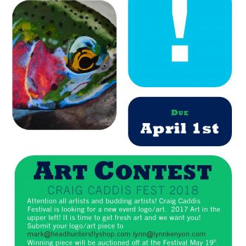 Caddis Fest '18 Poster Art Contest