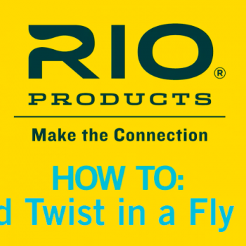 How to Avoid Twist and Memory of a Fly Line Video