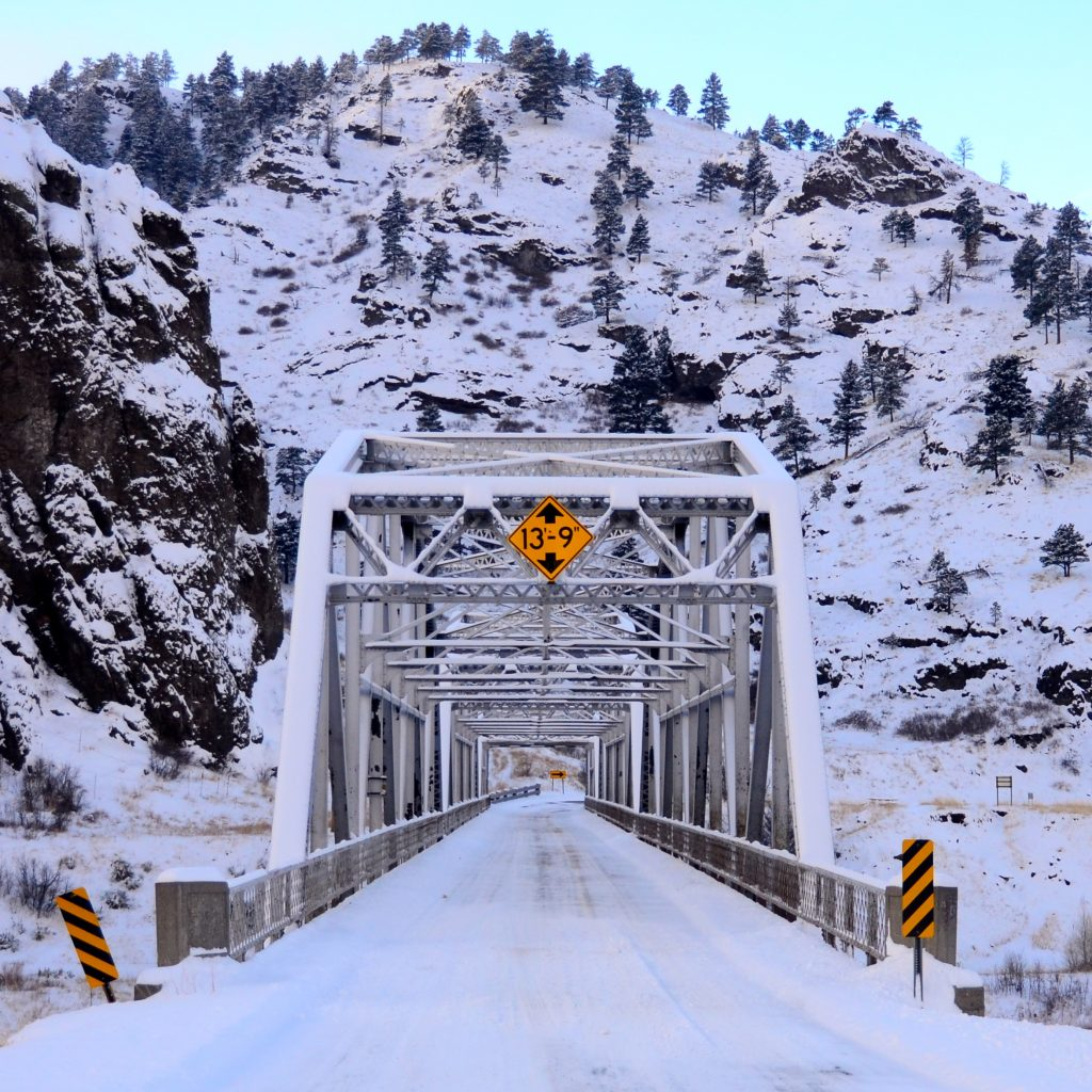 Friday Foto Untouchables Winter Bridge