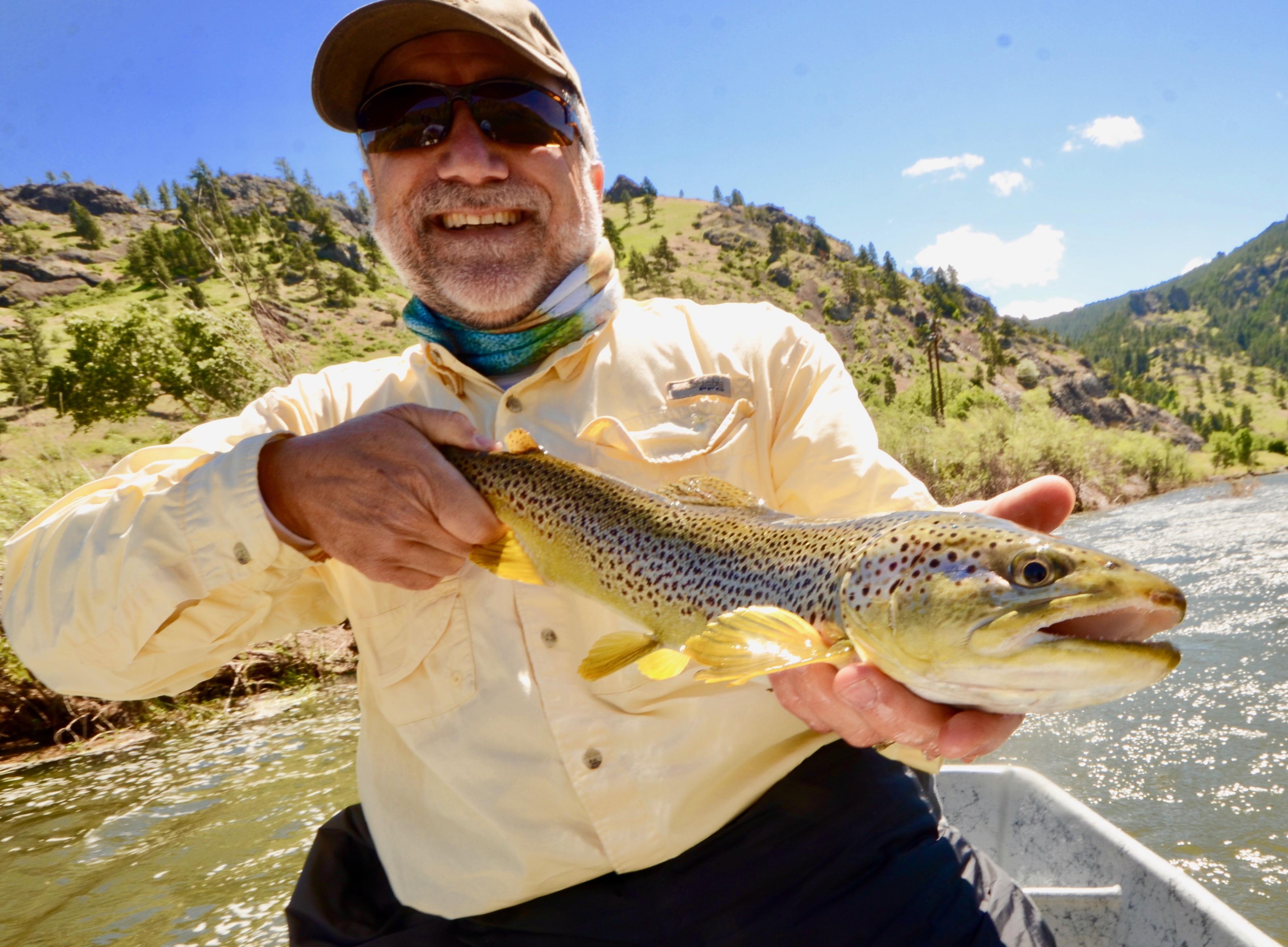 Missouri River Friday Fishing Report Headhunters Fly Shop