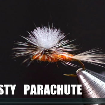 Just Add Vise Tying Video Rusty Spinner