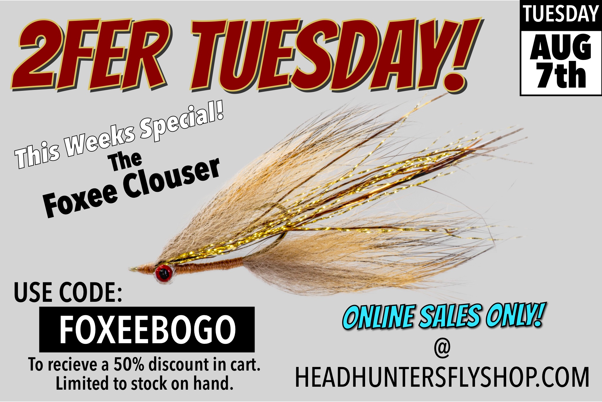 Foxee Clouser Minnow BOGO