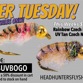 2FER TUESDAY Czech Nymph BOGO