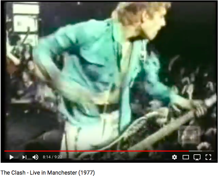 The Clash - Live in Manchester 1977