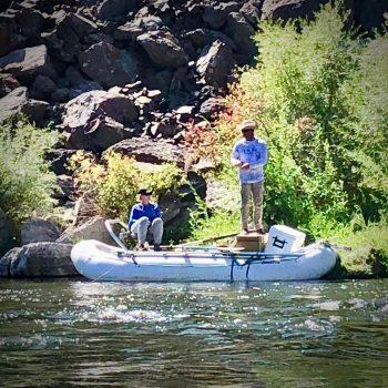 Monday Missouri River Labor Day Fishing Report