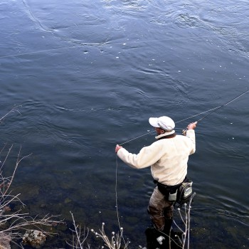 Missouri River trout fishing