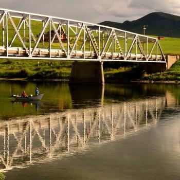 Wolf Creek Bridge Missouri River Montana