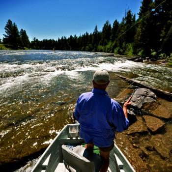 Fly Fishing Blackfoot River