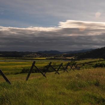 Montana Ranch Scene
