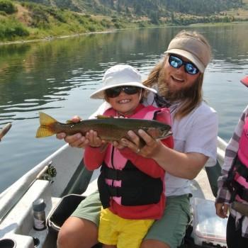 Missouri River guided kids trips