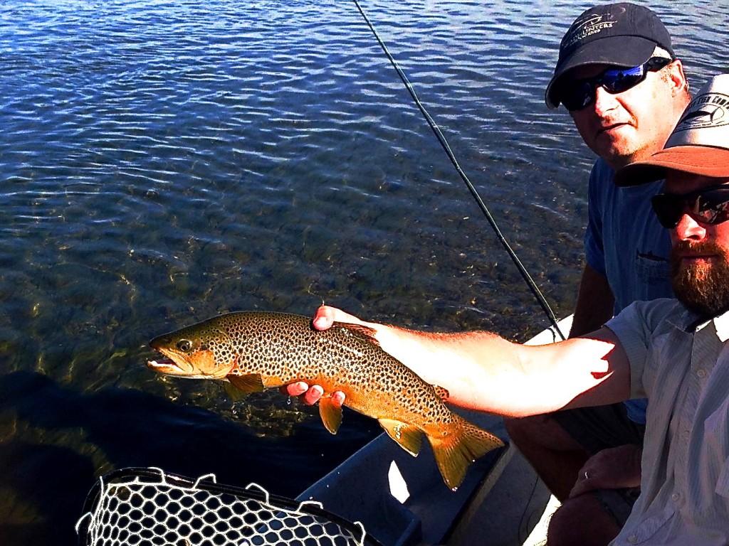Missouri River Montana hopper fishing