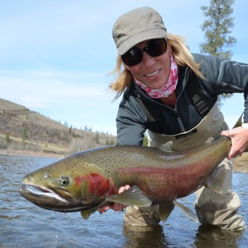 Women Steelhead Fly Fishing