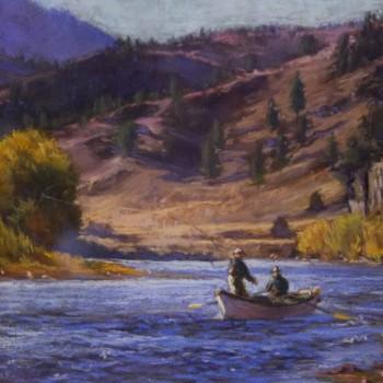 Montana fly fishing art