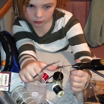 Kids Fly Tying