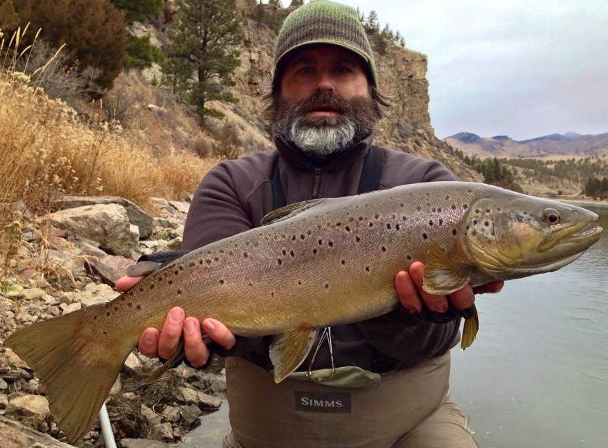 Missouri River Big Trout