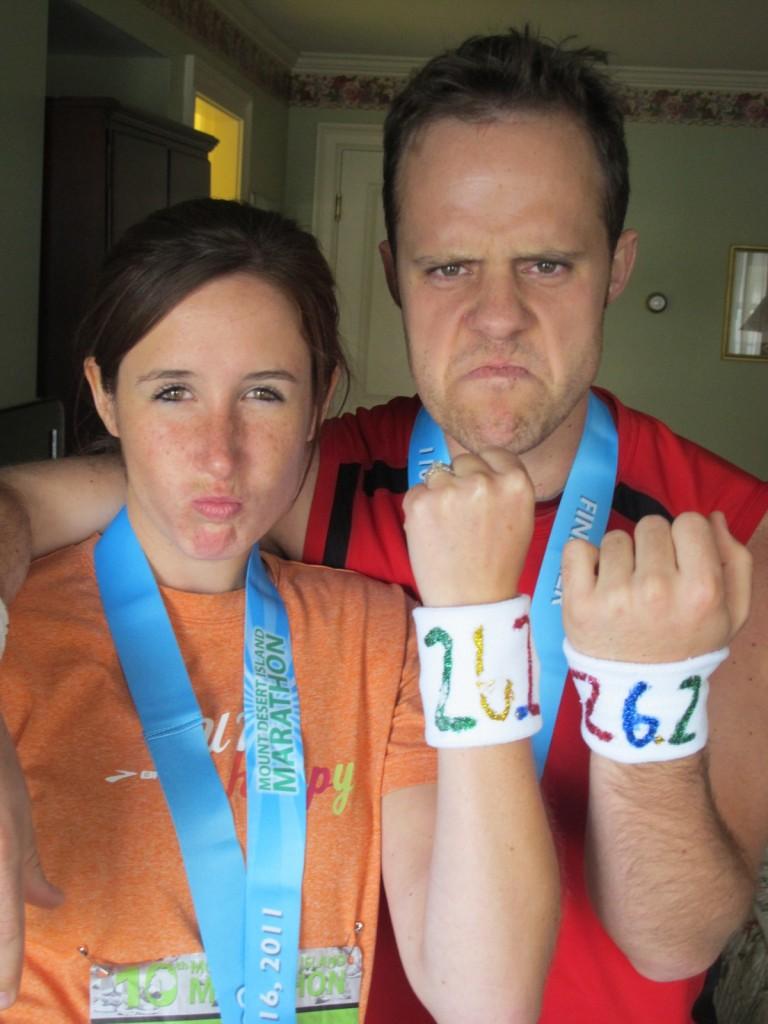 jJon and Shannon Hardy marathon
