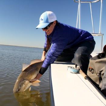 Teal Louisiana Redfish