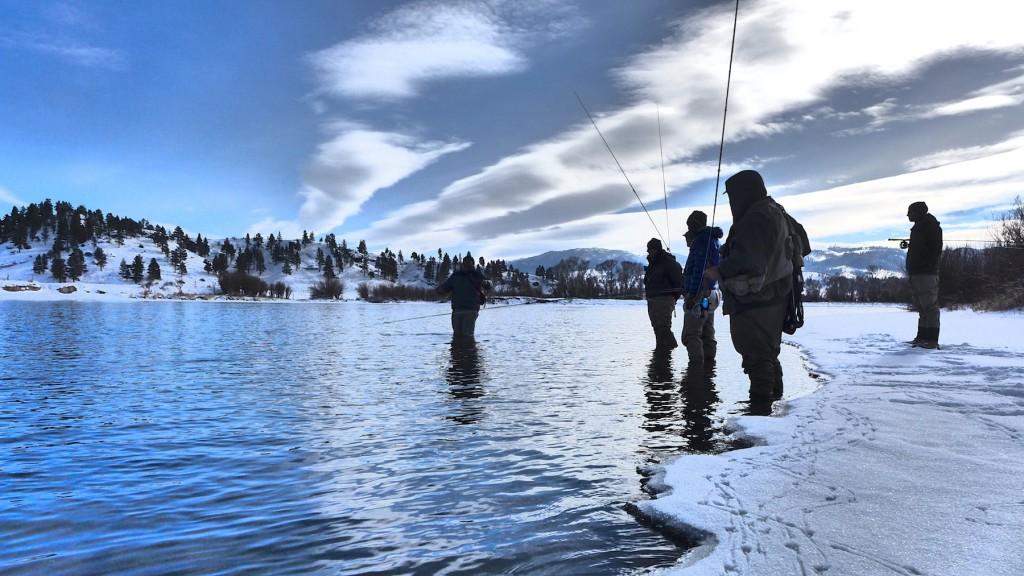 Missouri River Presidents Weekend Fishing Report