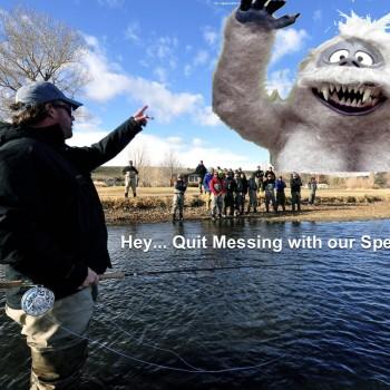 Montana winter spey fishing