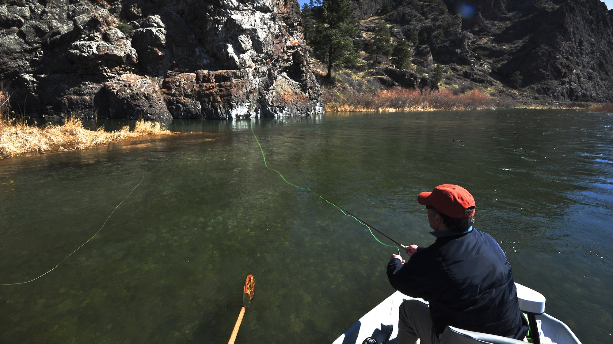 May Day Missouri River Fishing Report
