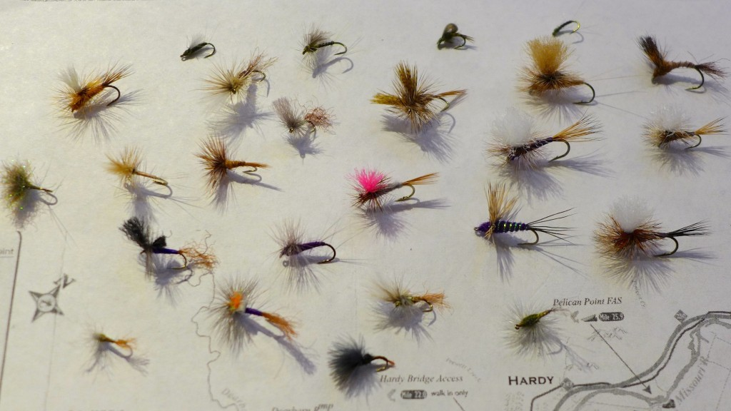 Missouri River Montana May Dry Flies
