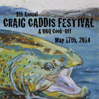 Craig Caddis Festival & BBQ Cook-Off next Saturday