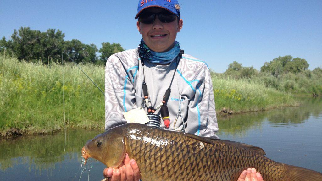 Montana carp fly fishing