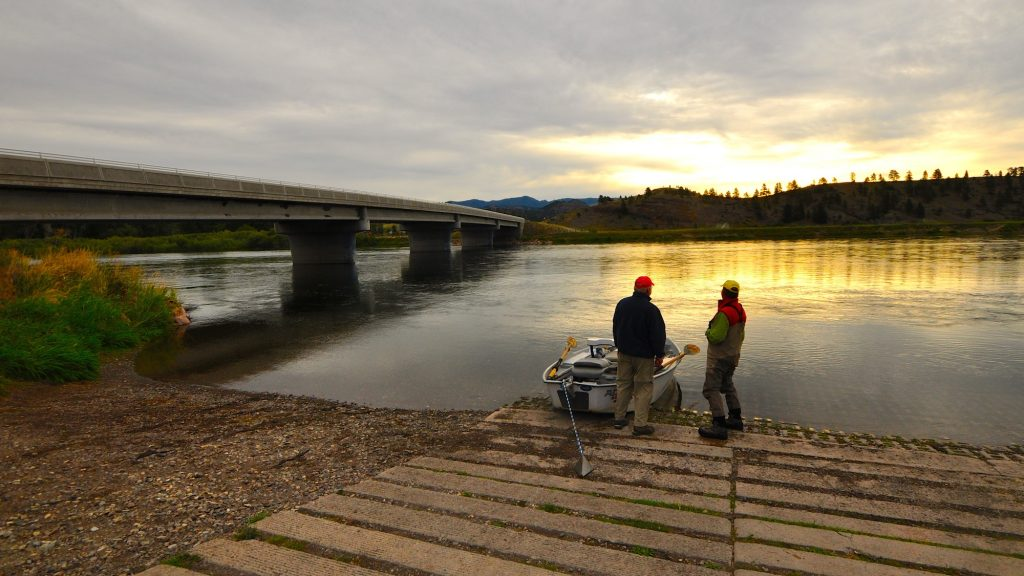 Missouri River & Blackfoot River Fishing Report