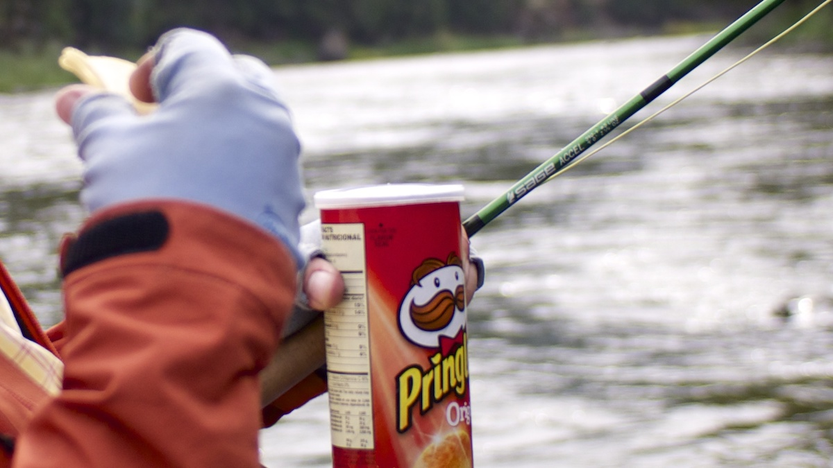 Pringles and fly fishing