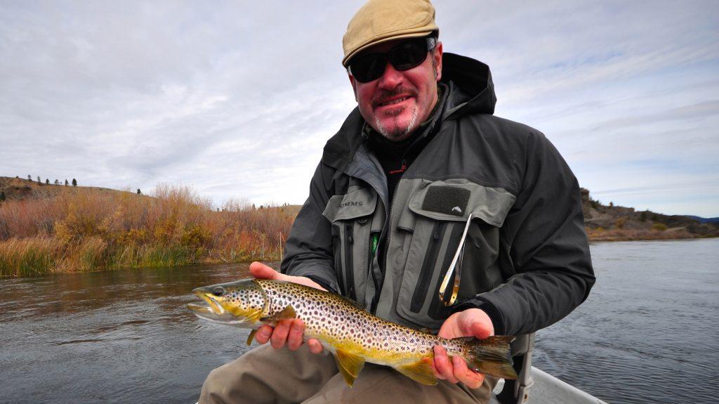Missouri River Arctic Blast Fishing Report