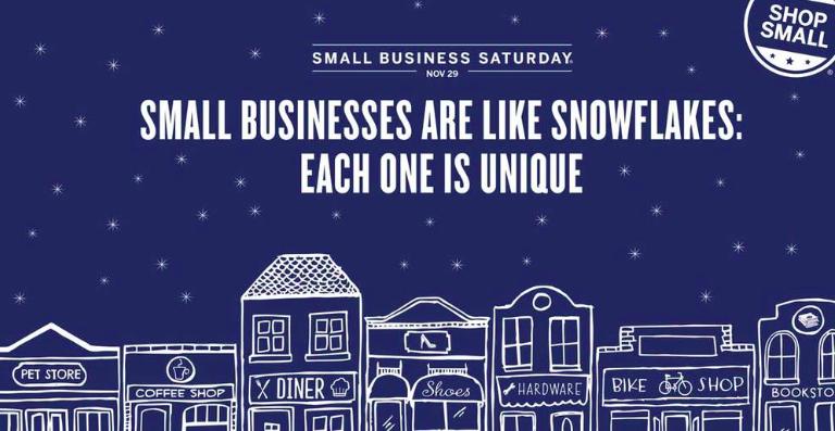 Shop Small this Saturday