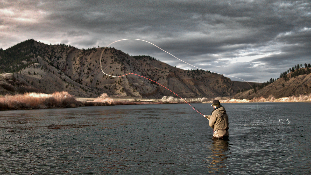 Montana spey fishing