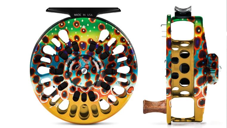 Abel Reels. Male Fly Fishing Jewelry