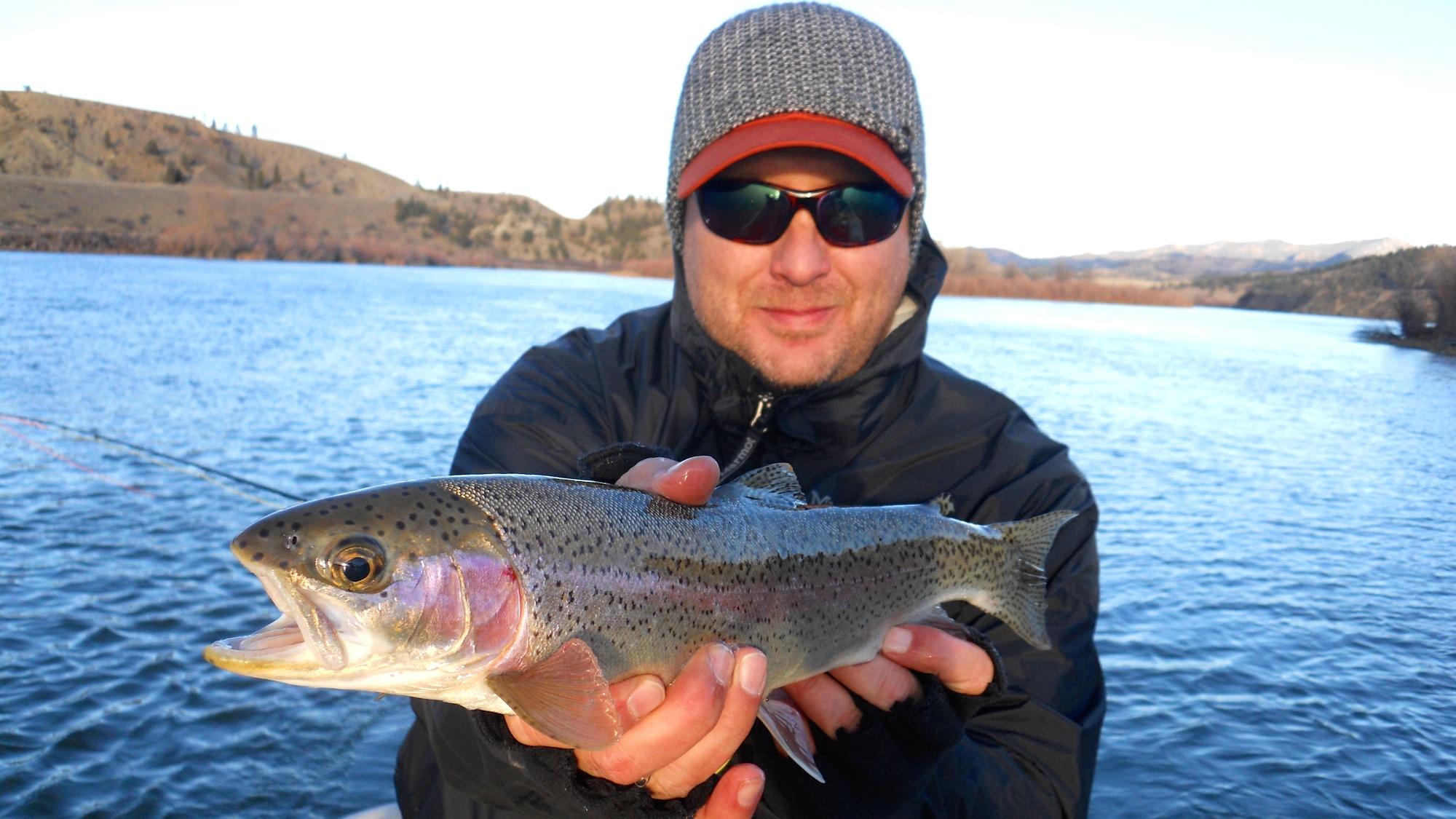 Missouri river montana fishing report for Lewis river fishing report