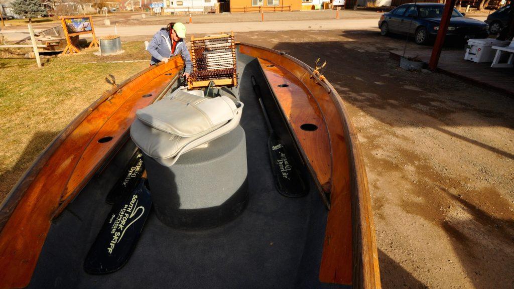 New Boat Smell | Sara's Montana Boat Builders Skiff
