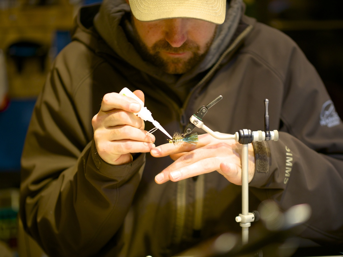 Ben McNinch fly tying