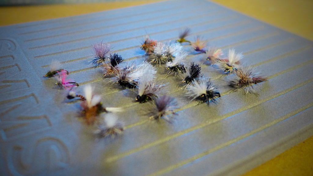 Missouri River March Dry Flies