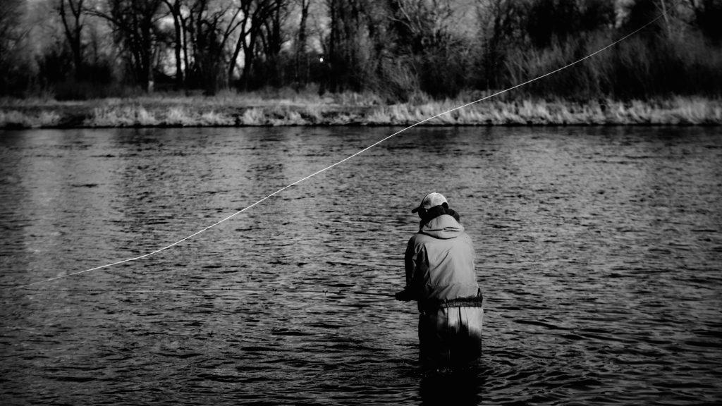 Missouri River spey fishing