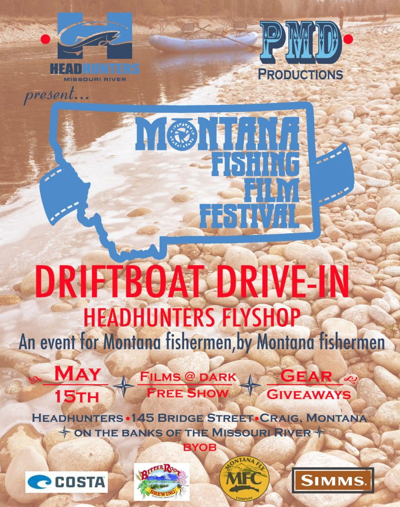 Headhunters Fly Shop Drift Boat Drive-In