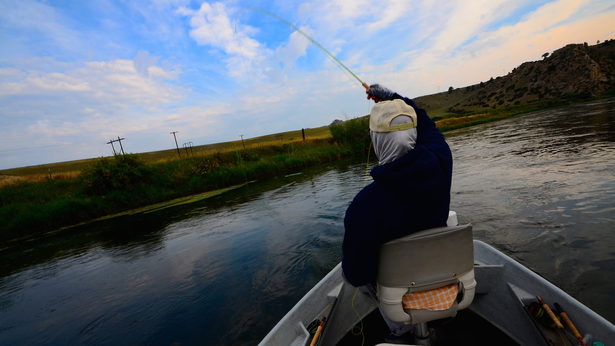 Missouri river fishing report holding steady for Montana fly fishing report