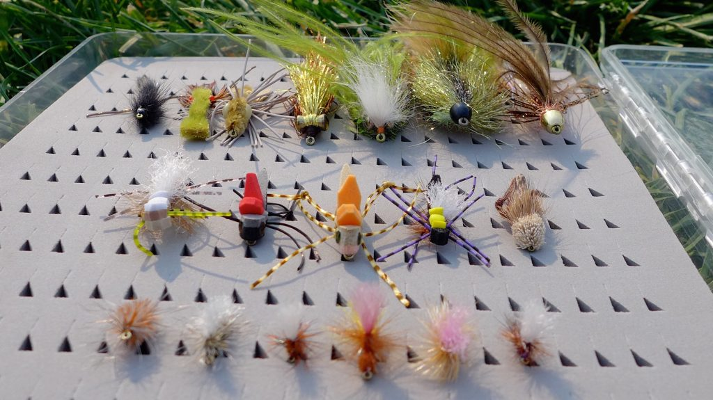 Late Summer Season Missouri River Flies