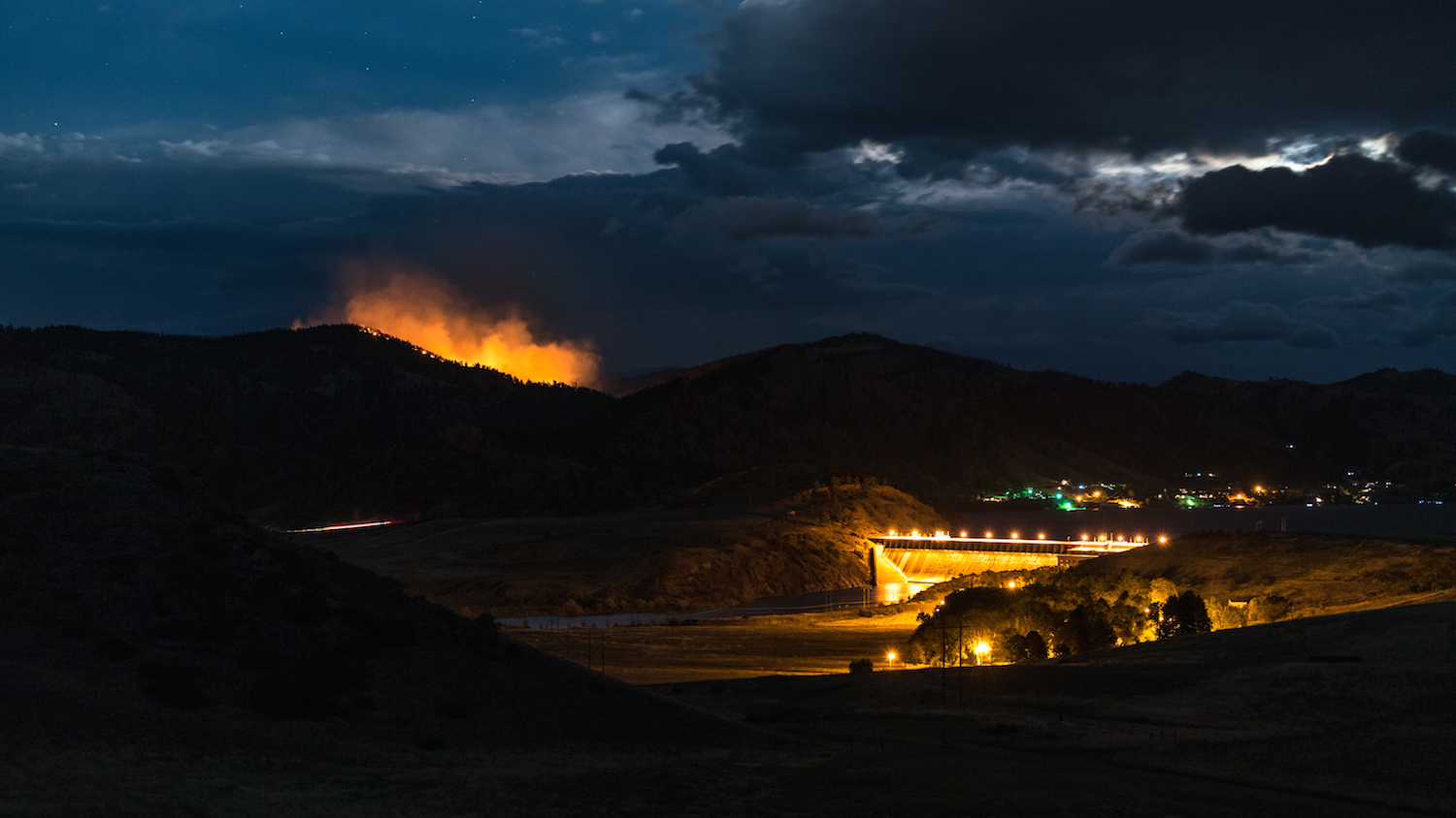 Bray Gulch Fire Holter