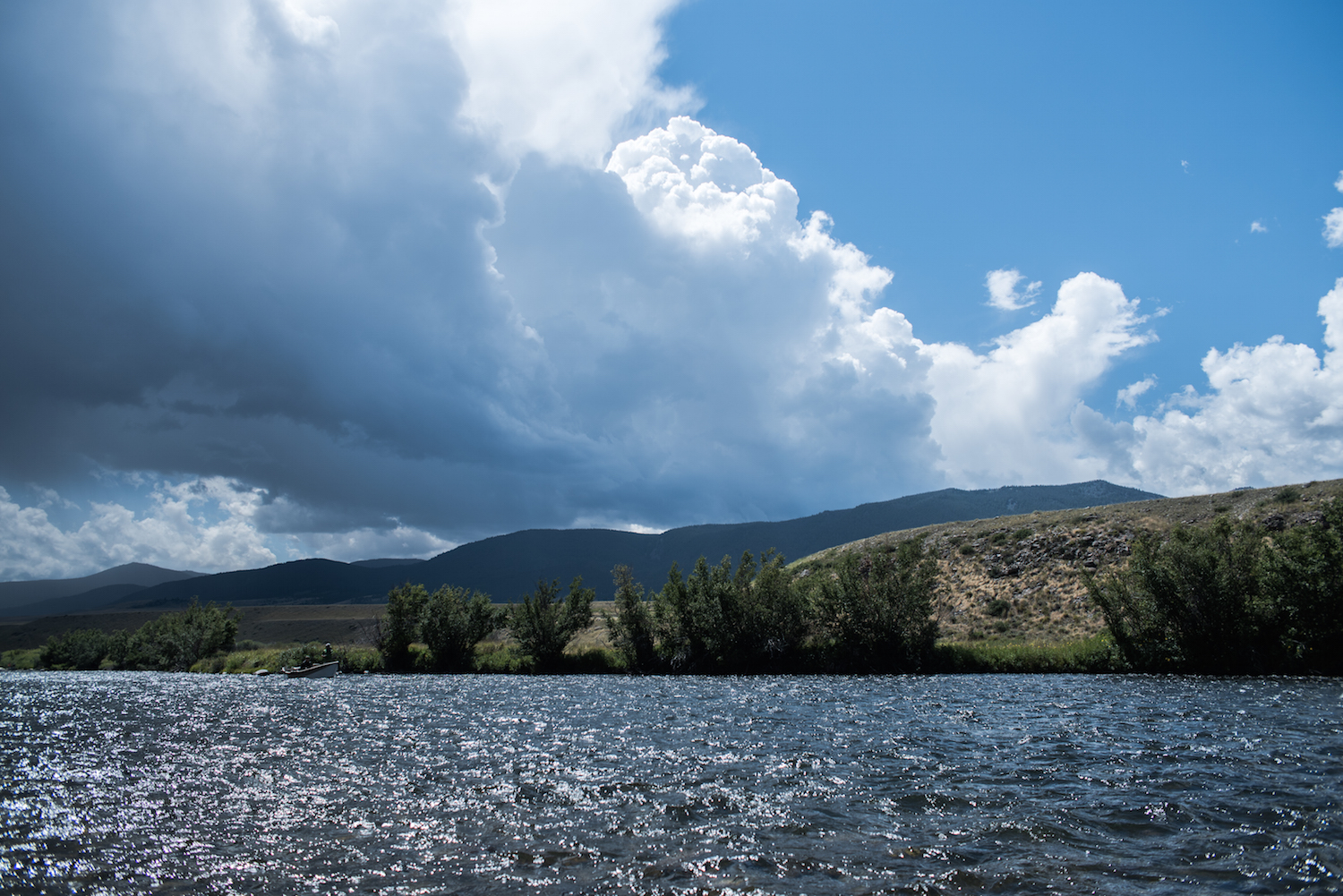 Madison River Thunderstorms