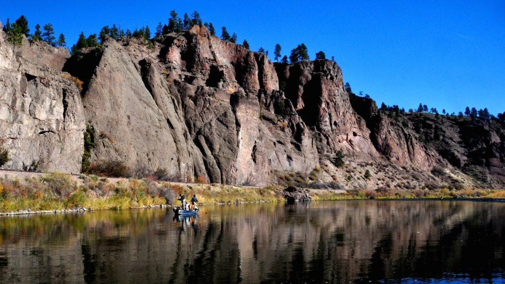 Missouri River Canyon Stretch Fly Fishing