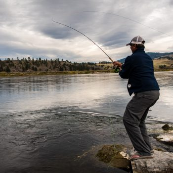 Montana Trout Spey Fishing